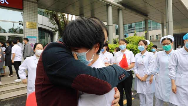 深圳援鄂医疗队结束14天休整,与家人团聚!