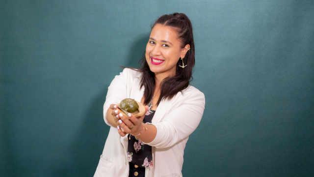 素食分享人Nadia丨中西合璧,美国姑娘做的青团,你吃过吗?