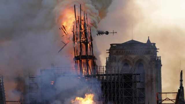 巴黎圣母院大火一周年:因疫情中断修复,有一半可能完全塌陷