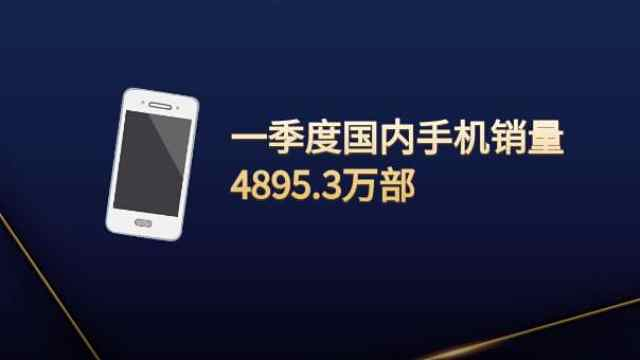 5G手机出货1406万部!一季度国内手机销量同比下滑36.4%