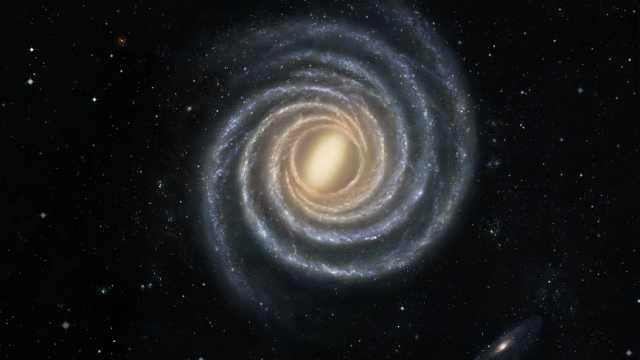 南大与哈佛绘制迄今最精确银河系结构图:展示银河系四条旋臂