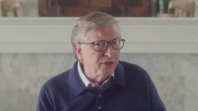 比尔·盖茨:中国在疫情暴发时做了正确的事,美国却做得很差