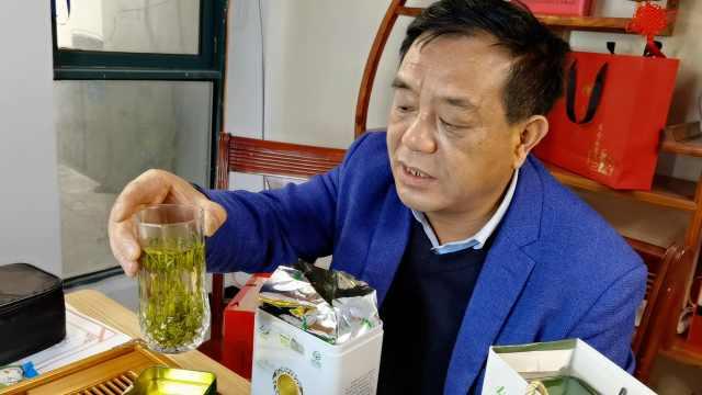 53岁茶农尝试直播带货:首日卖了5800元,线上增长25%