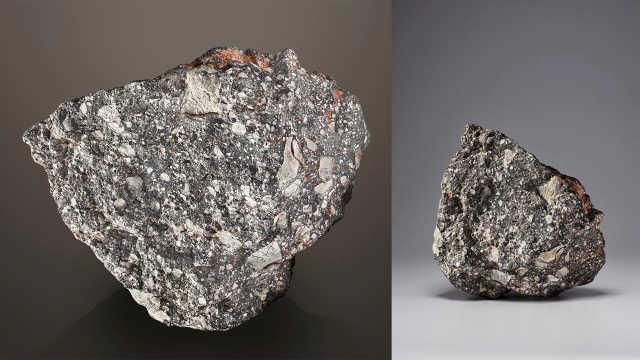 世界第五大月球陨石将拍卖,估价200万英镑
