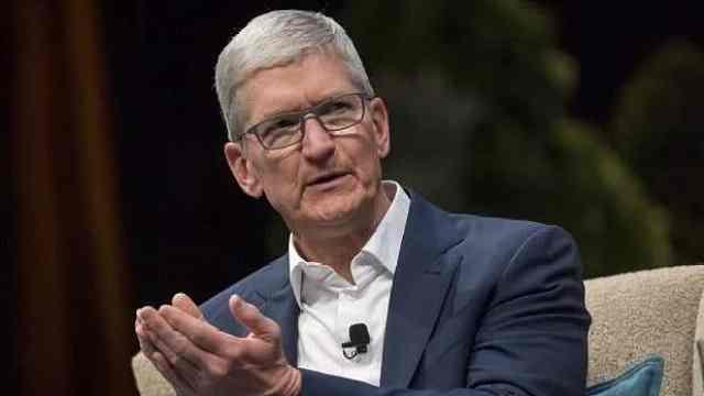 库克称中国市场一季度表现不错,苹果首次未发布业绩预测