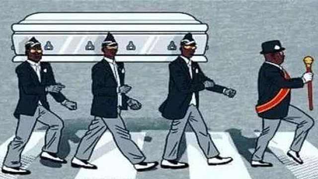 """""""黑人抬棺""""背后的故事:让人笑不是哭,是对死者最大的尊重"""