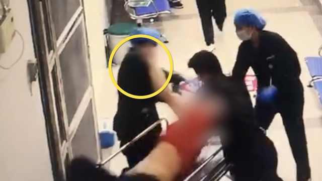 男子在医院打护士咬保安,酒醒后哭着说对不起