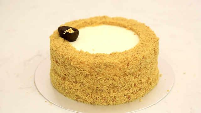 俄罗斯乌梅蜂蜜蛋糕:简单的莫名其妙,好吃的突如其来