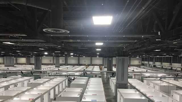 华盛顿建方舱医院提供437个床位,市长:希望永远用不上