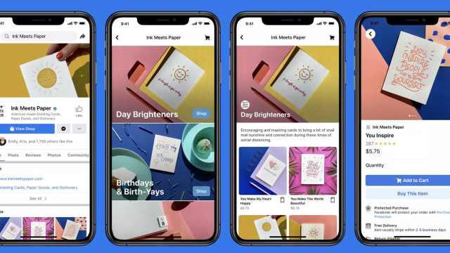 Facebook推出线上商店,帮助疫情期间中小企业电商转型