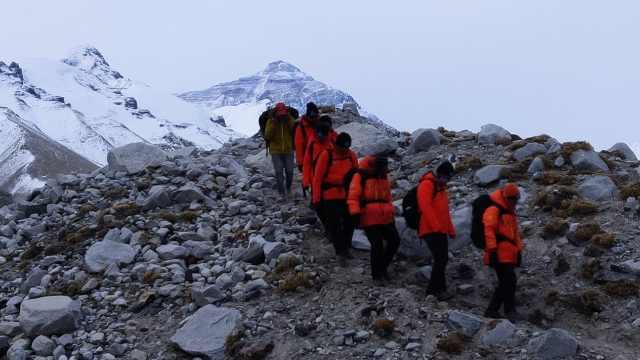 珠峰测高队23人来自河南同一高校,有队员系二次参与
