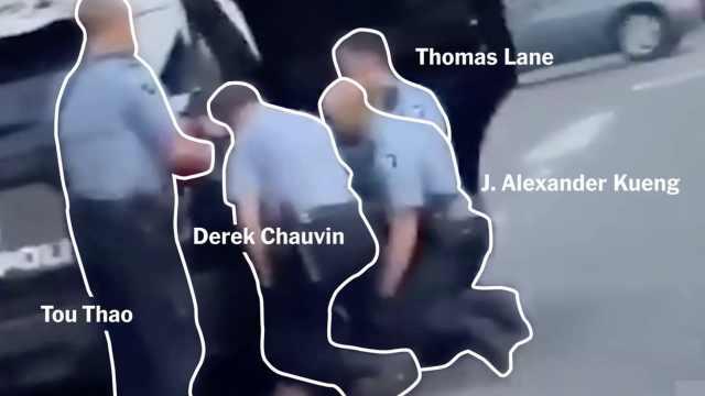 白日下的死亡:完整还原美国警察跪压黑人致死全过程