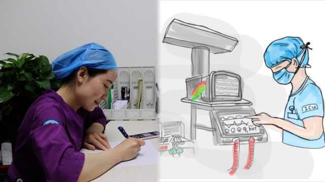 男护士援鄂抗疫32天,同事手绘18幅漫画记录历程:值得被铭记