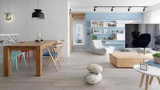 客厅不放沙发,这3种设计个个让人耳目一新!
