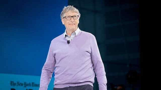 比尔盖茨捐款总额已超500亿美元,净资产达1078亿美元