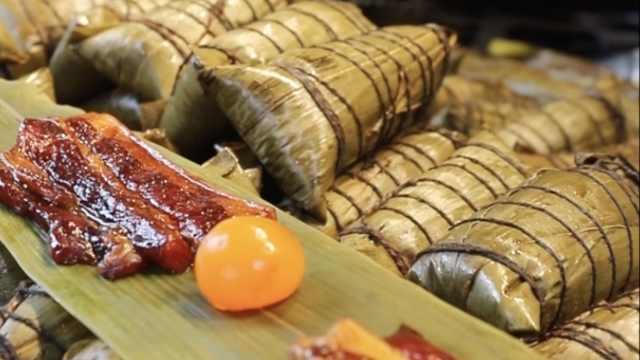 枫泾古镇手工粽:日销上千,是记忆中外婆包的味道
