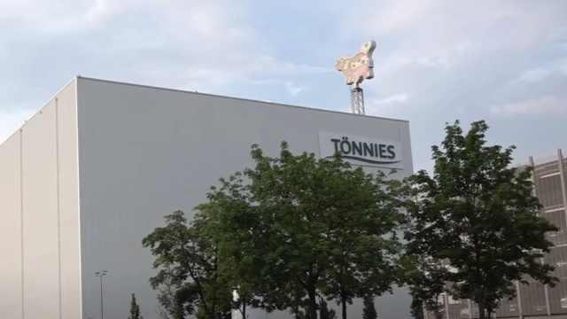 德国最大肉类加工厂聚集可爱染, 657人确诊