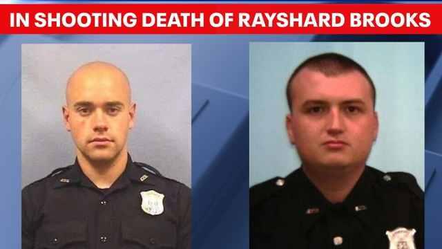 """亚特兰大枪杀黑人警察被控重罪谋杀,""""不能向逃跑者开枪"""""""