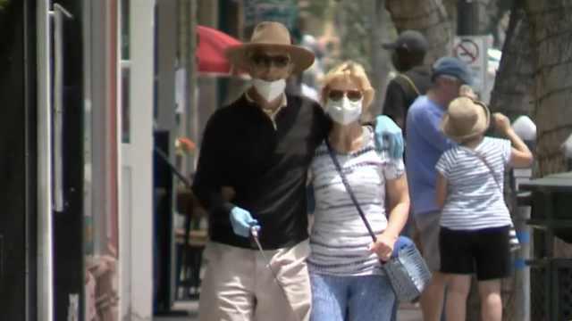 加州州长发布强制令:全州公共场合必须戴口罩
