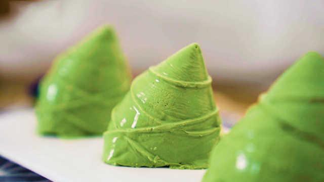 端午节奇葩粽子大赏!芒果味的冰淇淋粽子了解一下!