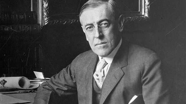 因观点带种族主义,普林斯顿一学院将前总统威尔逊除名