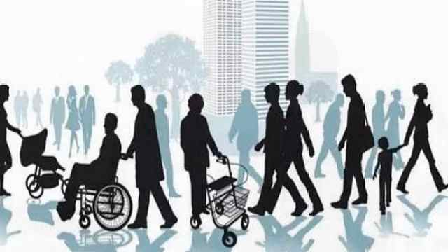 AI数据:2050年中国人口老龄化将达最高峰,近30%超65岁