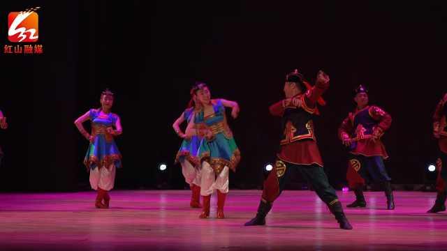 舞蹈《敖特尔风情》