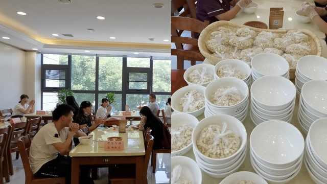 餐馆老板高考2天送出200碗泡馍:以后每年都会坚持