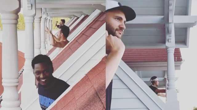 NBA球员隔离欢乐多!集体阳台电音趴,直播吐槽被封杀