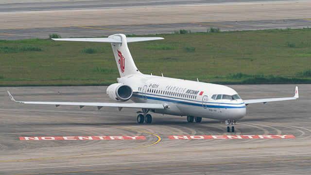 """""""阿娇""""来了:国产ARJ21飞机正式入编"""