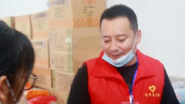 陕北汉子赶到江西当安置点志愿者:一天准备超3000份饭菜