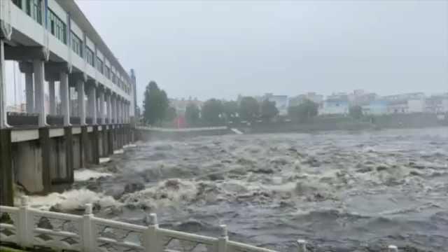 安徽淮河干流王家坝闸开闸泄洪,蓄洪区2千居民连夜转移