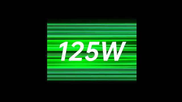 OPPO发布125W超级闪充:5分钟可充41%电量