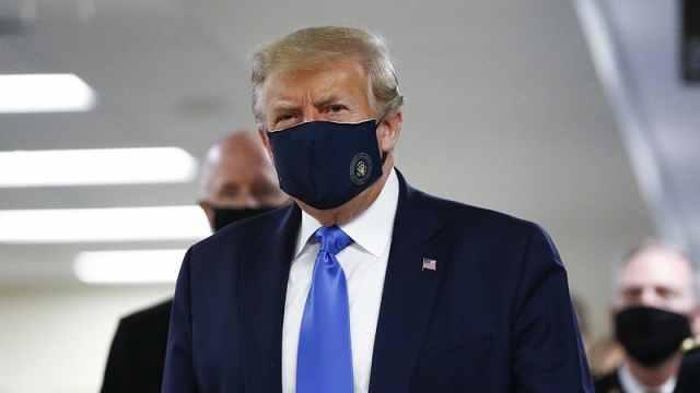 首度表态!特朗普呼吁美国人戴上口罩:不管你