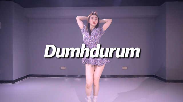 苗苗cover APINK《Dumhdurum》,活泼可爱咚咚舞