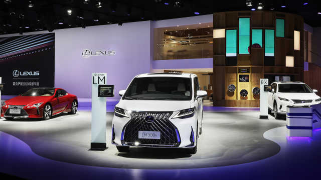 LEXUS雷克萨斯携多款车型亮相成都国际车展