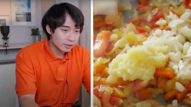 **C蛋炒饭教程气坏亚洲网友:饭煮好后竟要滤干