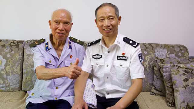 父子两代从军!儿子退休前抗疫70余天,父亲卧病