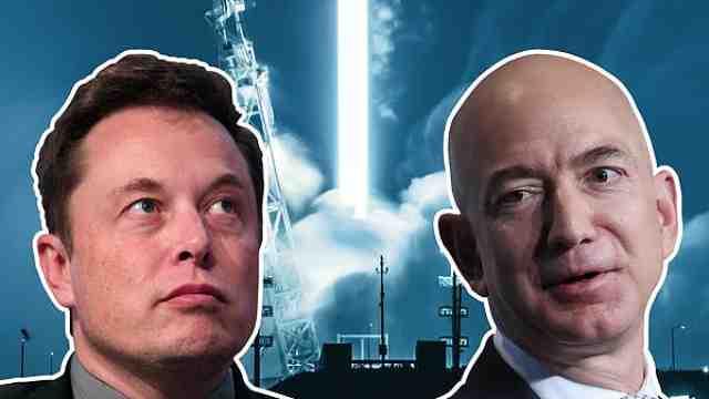 贝索斯投百亿美元与马斯克竞争卫星宽带,曾被马斯克嘲讽抄袭