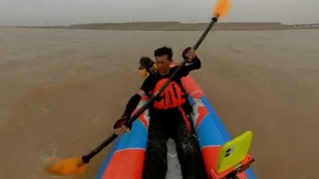 漂流黄河小伙结束43天旅程回宁夏,妻子欲陪他转战黄河源头