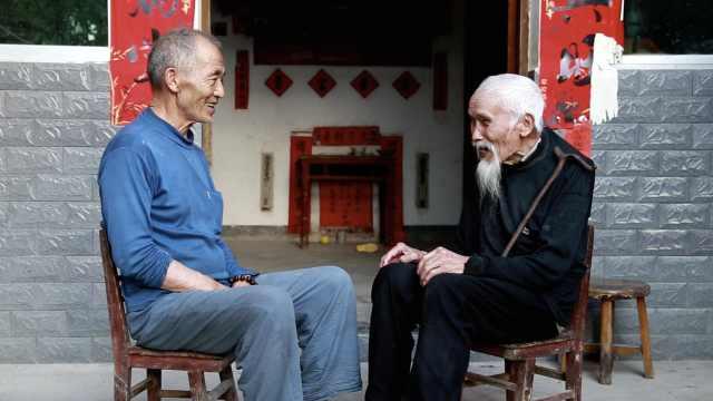 118岁老人每天和86岁小弟组局唠嗑,耳聪目明餐餐饮酒爱喝酸汤