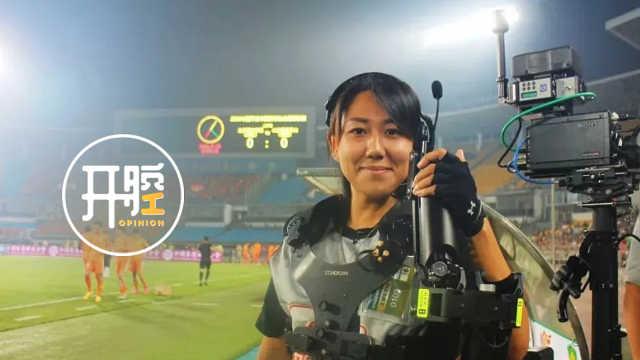 中国首位女斯坦尼康师邓璐开腔 | 穿着七十斤摄影机奔跑