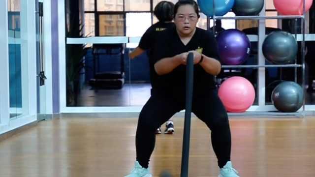 瘦身男女|240斤大学老师半年减40斤:母亲希望有生之年看我瘦