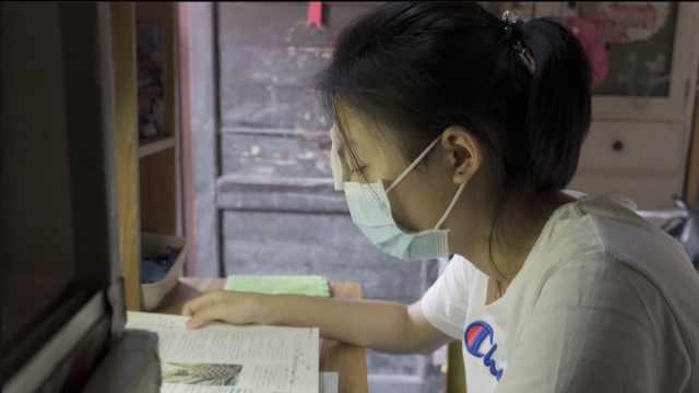 女孩仅靠一只眼学习:635分考取西交大医学系,想帮助更多人