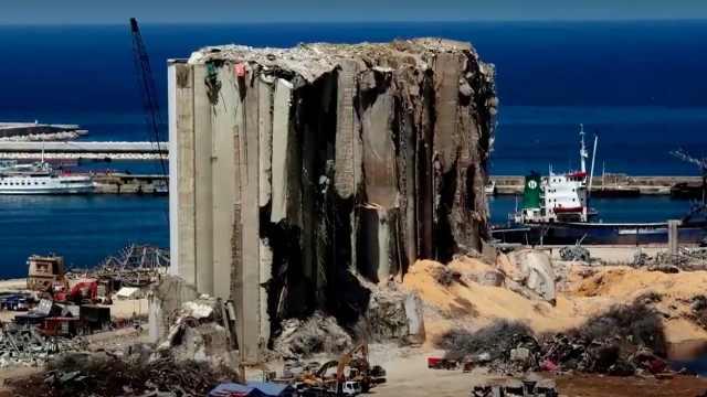 没有奇迹!经过3天营救,贝鲁特废墟中没有发现生命迹象