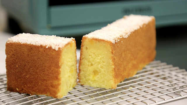 椰蓉凤梨磅蛋糕:经典搭配不会错