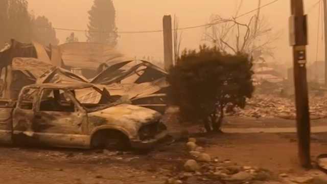 地狱般画面!美国西部山火已致33人死亡,特朗普态度遭批评
