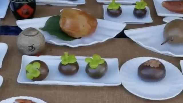 内蒙古夫妻3年花30万收集3桌奇石宴:为装修房子20万卖了一桌