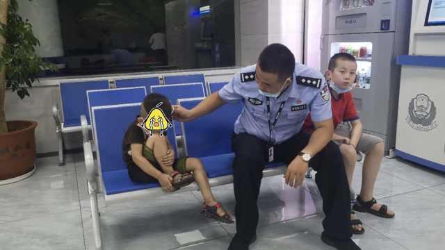 12岁男孩捡到5岁男童:坐公交车去报警,男童最
