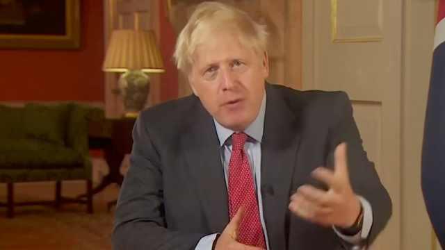英国启动新一轮防疫措施,鲍里斯电视演讲:必要时动用军队